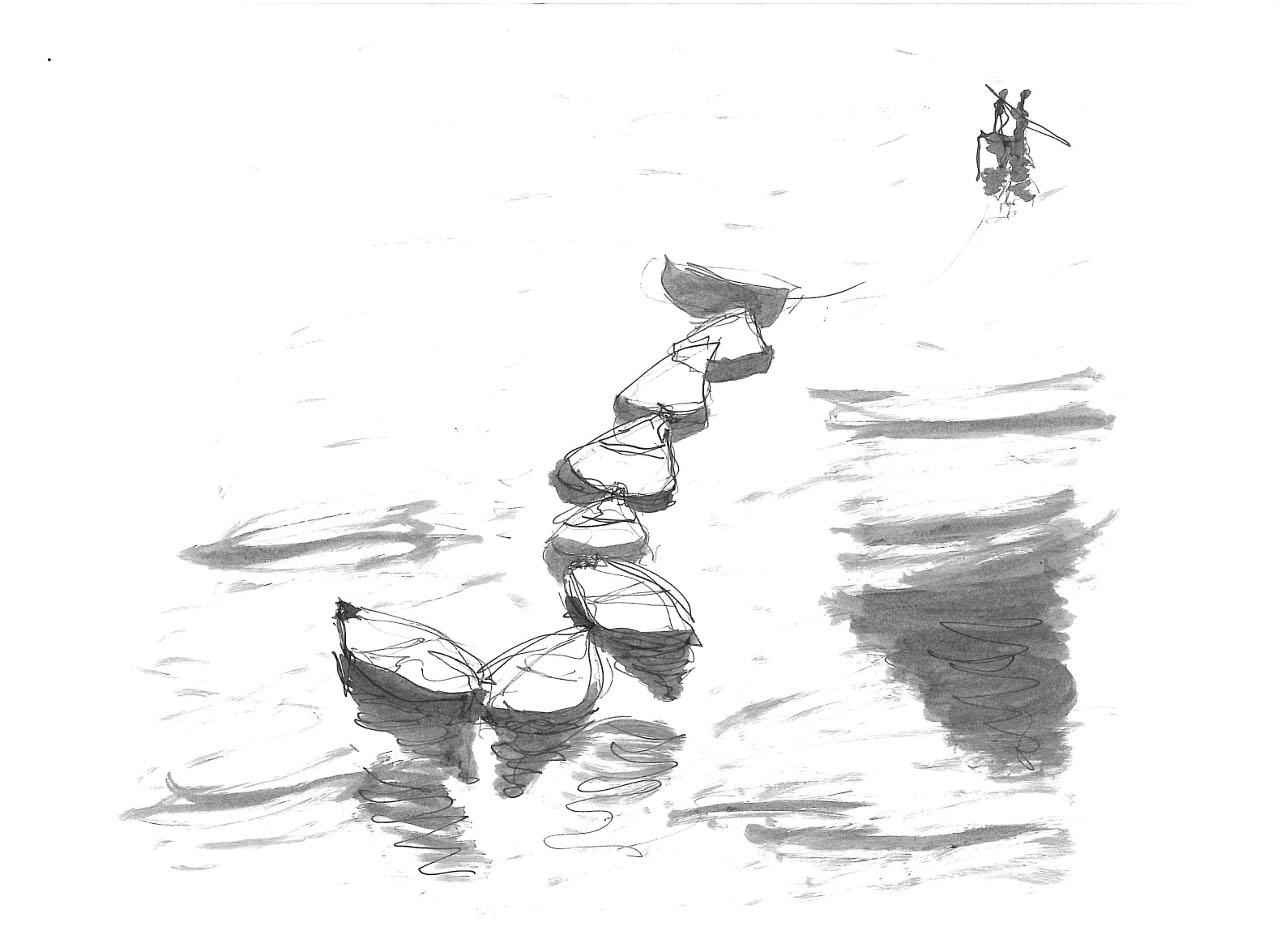 Eightfold boats